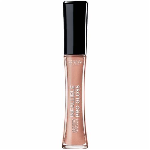 L'Oreal Paris Infallible 8 Hour Pro Nude Petal Lip Gloss Perspective: front