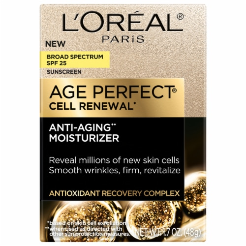 L'Oreal® Paris Age Perfect® Cell Renewal Anti-Aging Moisturizer Perspective: front