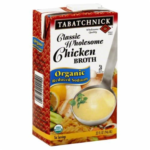 Tabatchnick Classic Wholesome Organic Chicken Broth Perspective: front