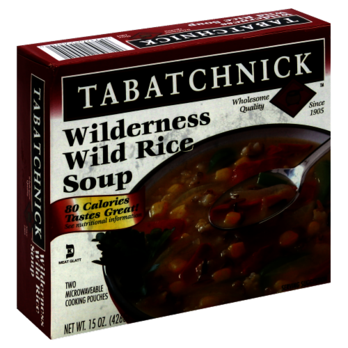 Tabatchnick Wilderness Wild Rice Soup Perspective: front