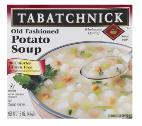 Tabatchnick Old Fashioned Potato Soup Perspective: front