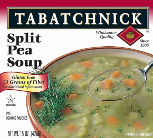 Tabatchnick Pea Soup Perspective: front
