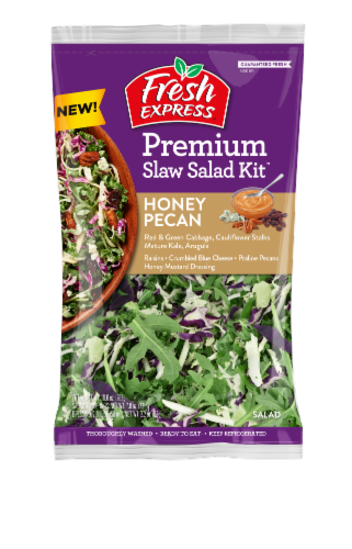 Fresh Express Honey Pecan Slaw Salad Kit Perspective: front