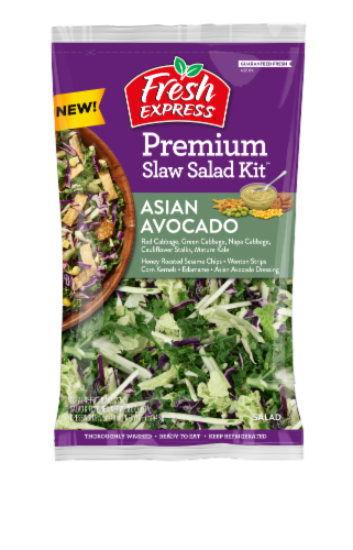 Fresh Express Asian Avocado Slaw Salad Kit Perspective: front