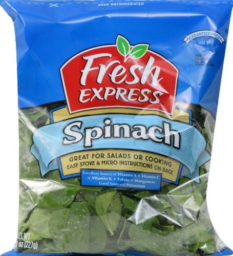 Fresh Express Spinach Perspective: front
