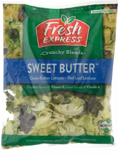 Fresh Express Sweet Butter Salad Perspective: front