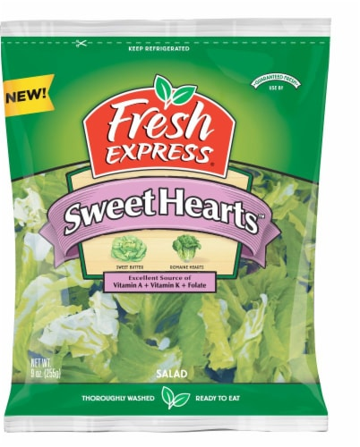 Fresh Express Sweet Hearts Salad Perspective: front