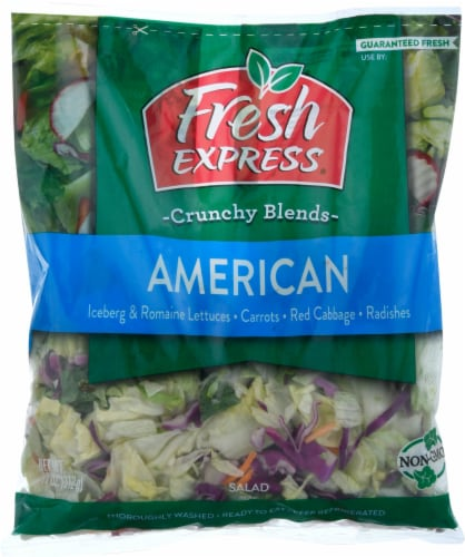 Fresh Express American Salad Mix Perspective: front