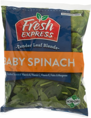 Fresh Express Baby Spinach Perspective: front