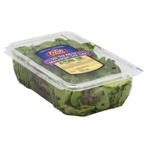 Fresh Express 50/50 Salad Mix Perspective: front