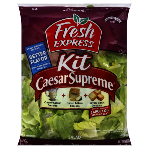 Fresh Express Caesar Supreme Kit Perspective: front