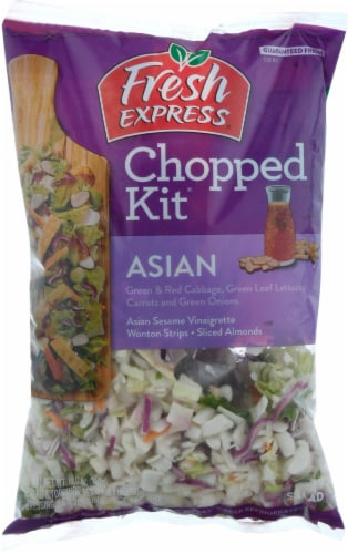 Fresh Express Asian Chopped Kits Perspective: front