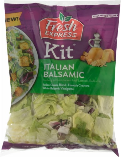 Fresh Express Italian Balsamic Salad Kit Perspective: front