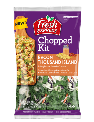 Fresh Express Bacon Thousand Island Chopped Salad Kit Perspective: front