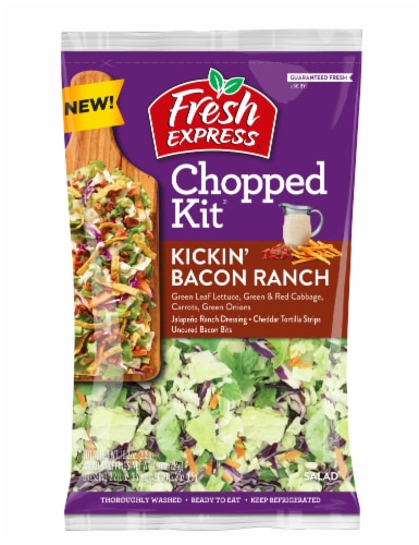 Fresh Express Kickin' Bacon Ranch Chopped Salad Kit Perspective: front