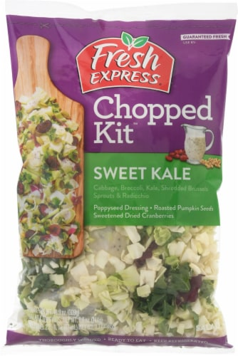 Fresh Express Sweet Kale Chopped Salad Kit Perspective: front
