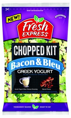 Fresh Express Greek Yogurt Bacon & Bleu Chopped Salad Kit Perspective: front