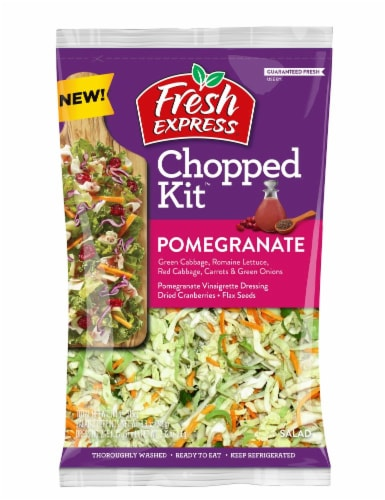 Fresh Express Pomegranate Chopped Salad Kit Perspective: front