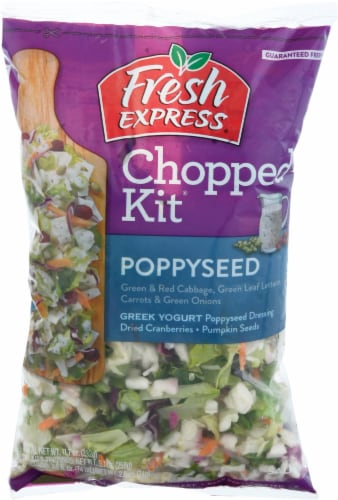 Fresh Express Poppyseed Chopped Salad Kit Perspective: front