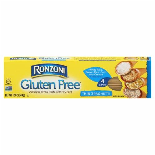 Ronzoni Gluten Free Thin Spaghetti Perspective: front