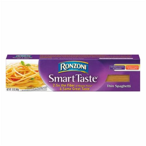 Ronzoni Smart Taste Thin Spaghetti Perspective: front