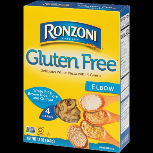 Ronzoni Gluten Free Elbow Pasta Perspective: front