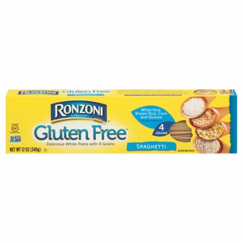 Ronzoni Gluten Free Spaghetti Perspective: front