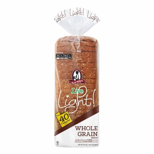 Aunt Millie's Live Light Whole Grain Bread Perspective: front