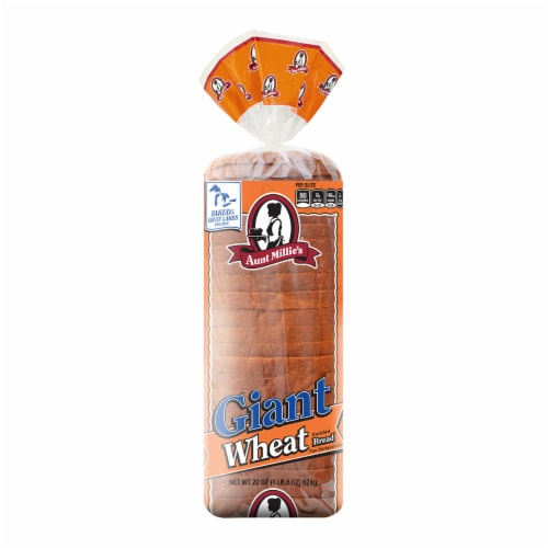 Aunt Millie's Deluxe Wheat Bread Perspective: front