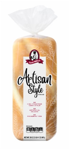Aunt Millie's Artisan Style Bread Perspective: front