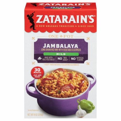 Zatarain's Mild Jambalaya Rice Mix Perspective: front