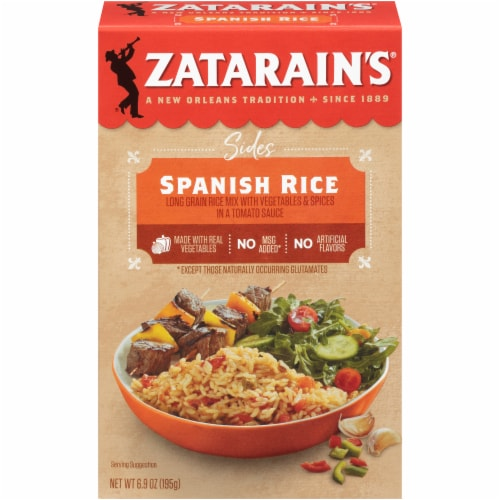 Zatarain's Spanish Rice Perspective: front