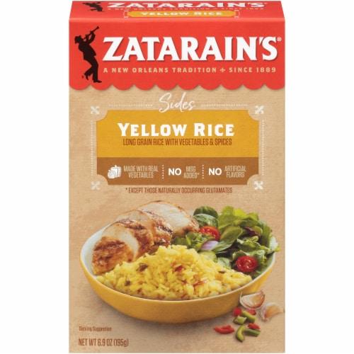 Zatarain's Yellow Rice Perspective: front
