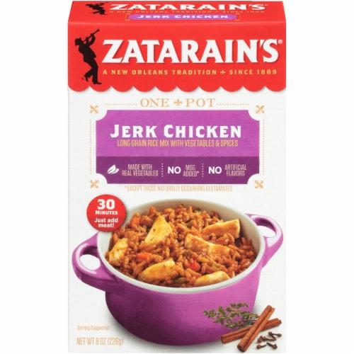 Zatarain's Jerk Chicken Rice Dinner Mix Perspective: front