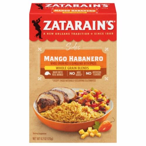 Zatarain's Whole Grain Blends Mango Habanero Rice & Quinoa Perspective: front