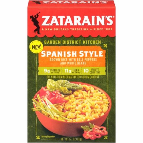 Zatarain's Garden District Kitchen Spanish Style Brown Rice Perspective: front