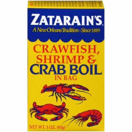 Zatarain's Crawfish Shrimp & Crab Boil in Bag Perspective: front