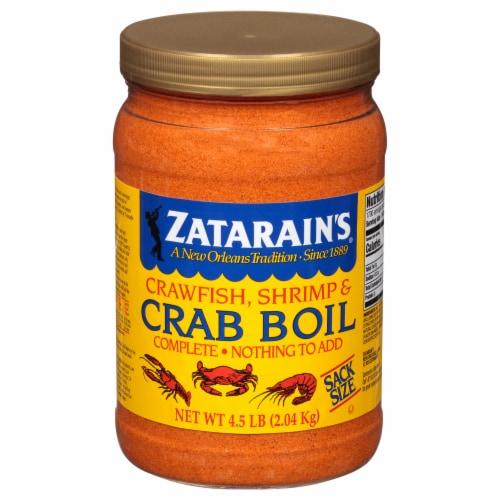 Zatarain's Complete Crawfish Shrimp & Crab Boil Perspective: front