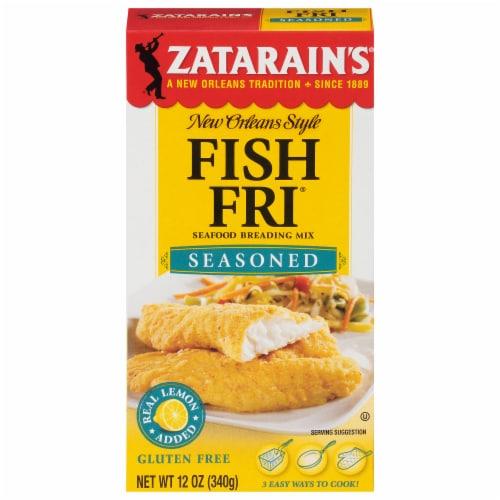 Zatarain's Seasoned Fish Fri Perspective: front