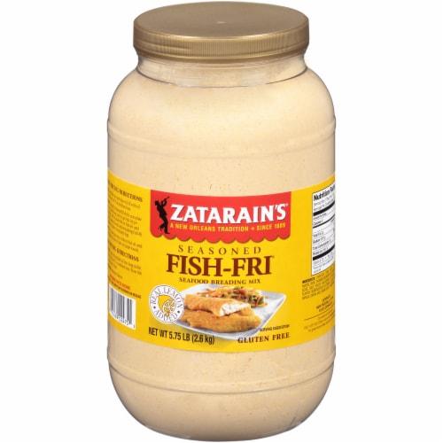 Zatarain's Seasoned Fish-Fri Seafood Breading Mix Perspective: front