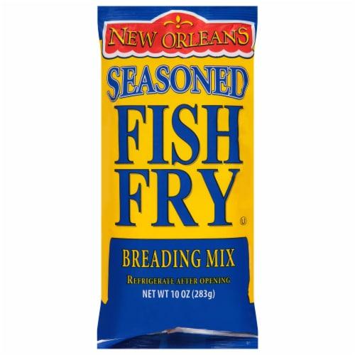 Zatarain's New Orleans Seasoned Fish Fry Breading Mix Perspective: front