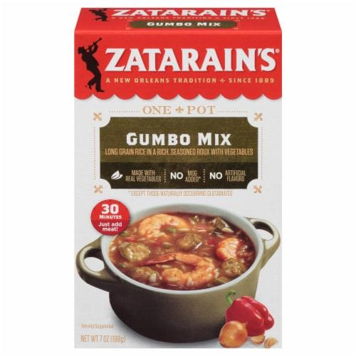 Zatarain's Gumbo Mix Perspective: front