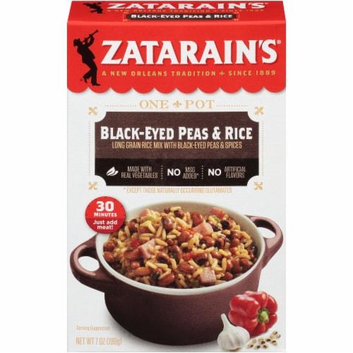Zatarain's® Black-Eyed Peas & Rice Perspective: front