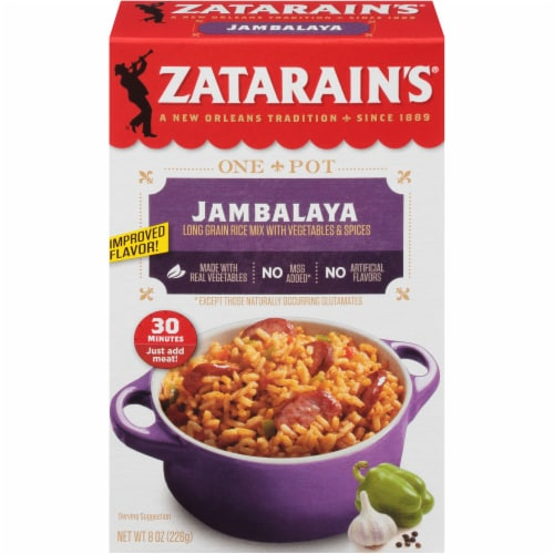 Zatarain's Jambalaya Mix Perspective: front