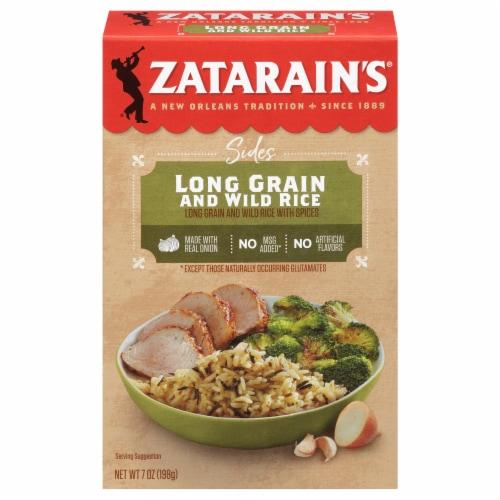 Zatarain's Long Grain & Wild Rice Mix Perspective: front