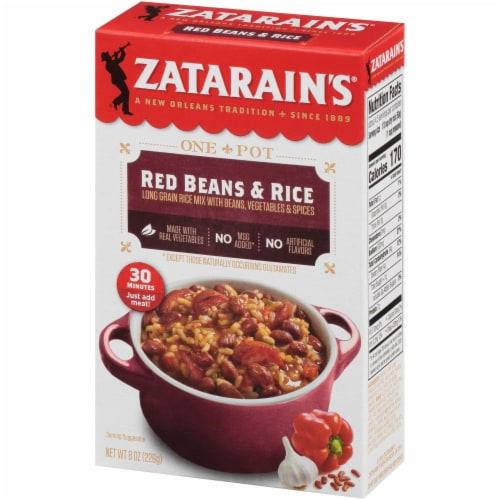 Zatarain's Red Beans & Rice Dinner Mix Perspective: front