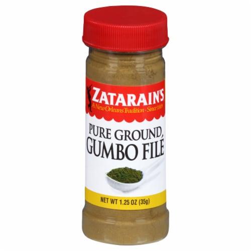 Zatarain's Pure Ground Gumbo File Perspective: front