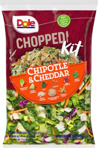 Dole Chipotle & Cheddar Chopped Salad Kit Perspective: front