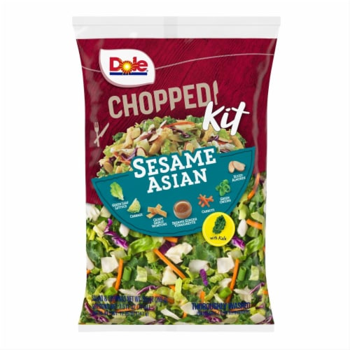 Dole Chopped Sesame Asian Salad Kit Perspective: front