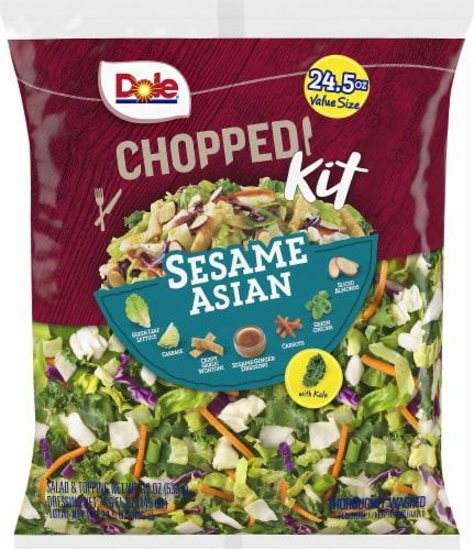 Dole Sesame Asian Chopped Salad Kit Perspective: front
